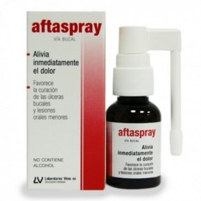 AFTASPRAY ULCERAS BUCALES SPRAY 20 ML
